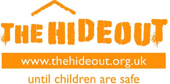 The Hideout logo