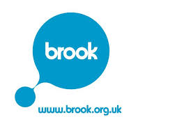 Brook – puberty logo