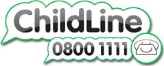 Childline – talk to us logo