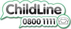 Childline – talk to us logo