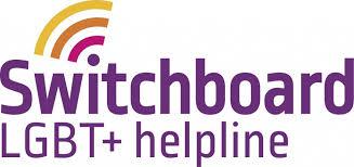 Switchboard LGBT+ helpline – Home logo
