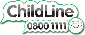 Childline- Living in care logo