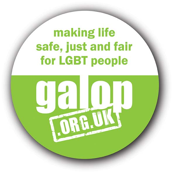 Galop – LGBT anti-violence & abuse charity logo